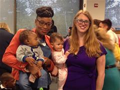 Nassau Graduates and their children.